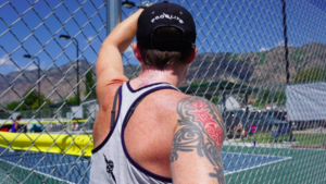 Pickleball Open Play:  Playing Up and Down